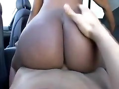 ebony bubble butt from BlacksCrush.com sex in the car