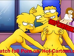 Simpsons Porn 2 Lisa and Marge have fun Cartoon Porn HD