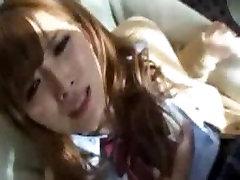 Japanese Teen Schoolgirls Nailed