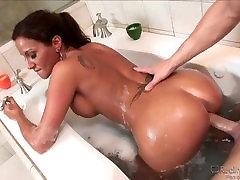 Adrianna Deville Fuckes In Bathroom