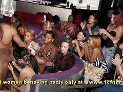 Cfnm Party Girls Sucking Stripper Cock