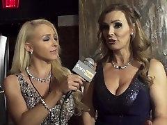 Vitaly ZD at AVN 2016 with Eva Angelina and Pornhub Aria Interviews