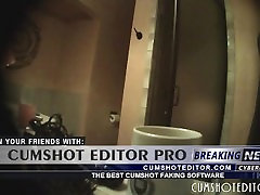 Spycam On Hot Busty MILF