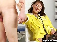 Russian medical femdom handjob-0002
