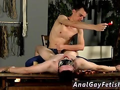 Hot guys having almost naked sex gay Wanked And Waxed To The Limit