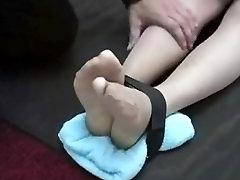 Tickled In Nylon Only Nylon Tickling