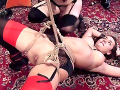 Innocent Girl Turned Anal BDSM Whore