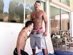 DylanLucas Horny Daddy Boss Fucks Twink