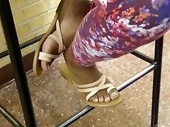 HS Friends Candid Beautiful Ebony Feet 3