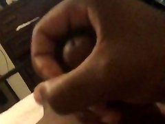 Black teen boy Moaning and making bed squeak masterbating