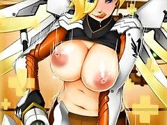 MINI Overwatch Mercy Hentai Slideshow
