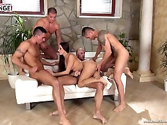 Mea Melone double analed,quadro crempied & gangbanged ass hard part.2
