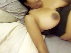 JIZZ-JIZZ-JIZZ OVER BLACK TITS AS BEATY MILKS MY P-SPOT FOR A MASSIVE LOAD