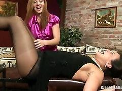 milf sasha tickled in black nylons