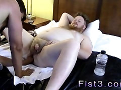Fist fetish shorts gay Sky Works Brocks Hole with his Fist