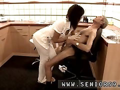 Teen girl hd Dokter Petra is studying the