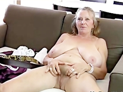 64yr Old Hairy Busty Mature Isabel Shows All Her Stuff mature mature porn granny old cumshots cumshot