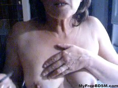 French Female Cigarette Torture bdsm bondage slave femdom domination