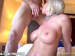 Brazzers - Busty blonde Riley Jenner gets stuffed