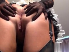 I found her on MATURE-FUCKS.COM - Upstairs Maid Done Working
