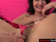 Find her on MATURE-FUCKS.COM - Mom feels horny today