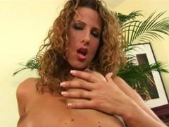 Mature Goddess Yvette Fingers Pussy