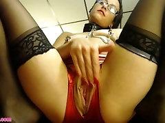AdalynnX - Red Crotchless Panties