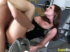 Gym slamming with the amazing cutie Sky Taylor