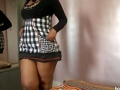 42 inches ass Indian girl dressed up as a horny wet school girl