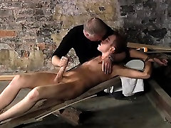 Male ass hope bondage movies and gay sexy emo bondage There