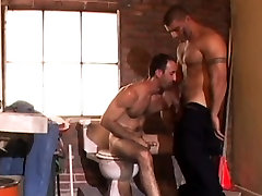 Two Sexy Studs Suck Each Others Dicks