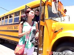 Digital Playground- School Bus Driver Comforts Sad Student With His Hard Di