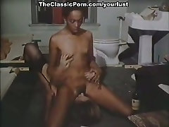 Two vintage brunette lesbians eat each others wet pussies in the jail