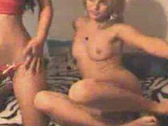 Hot Lesbian 69 Action on Webcam