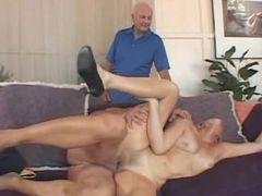 Mature wife enjoyed a wild sex with a pornstar