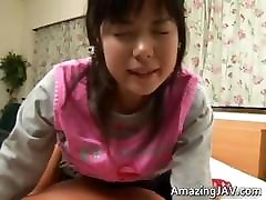 Pretty asian schoolgirl gets a warm part3