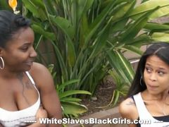 Femdom Ebonies Enjoying Outdoor Air