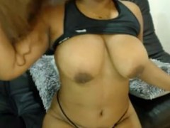 Thick and Sexy Ebony Squirt -