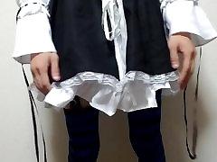 japanese crossdresser maid