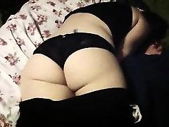 Bigass in panties fucked