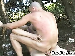 Hot Latino Gay Men Having Hardcore Barebacking Sex