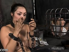 Lovely gal next door waits for her hardcore bdsm torture