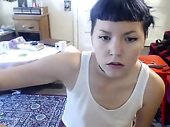 Asian cutie is on live cam undressing and showing her panti