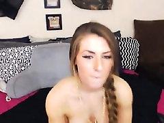 Warm School Girl Solo Cunt Masturbation