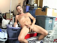 Daddy in solo action, with masturbation and sex toys