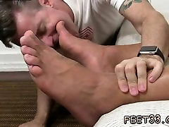 Gay male foot and cock Alpha-Male Atlas Worshiped