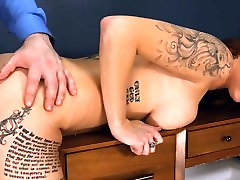 obscenely hardcore BDSM rope sex with anal action