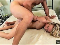 Nanny Dakota Skye is analed by her boss