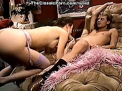 Jessica Wylde, Jon Martin in extremely hot vintage porn