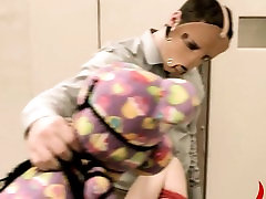 Extreme dildo anal havingsex with rope BDSM teacher
